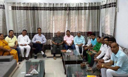 25 जून को एमरजैंसी रोष दिवस मनाने के सम्बद्ध में जिला भाजपा की बैठक