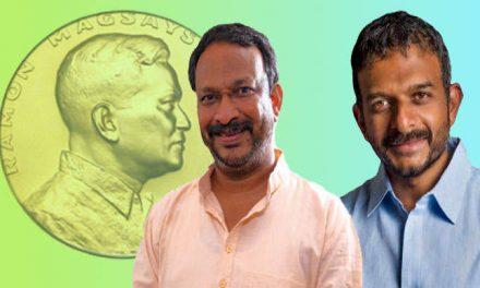 बेजवाड़ा विल्सन, टीएम कृष्णन को रेमन मैगसायसाय पुरस्कार