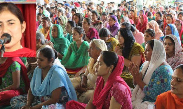 साध्वी आणीमा भारती जी ने जीवन में गुरू की महानता के बारे में बताया
