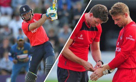 टूटे अंगूठे से इस बल्लेबाज ने जड़ा टीम के लिए सबसे तेज पचासा