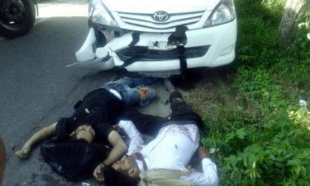 दो छात्रों की सडक़ हादसे में मौत