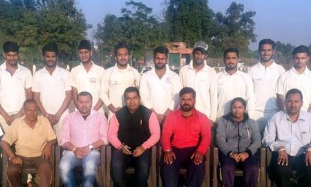 कप्तान अर्जुन के शानदार ऑल राउंडर प्रदर्शन से होशियारपुर टीम विजयी