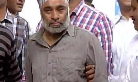 नाभा जेल से  भागा आंतकी मिंटू दिल्ली पुलिस ने किया दिल्ली -हरियाणा बॉर्डर पर पकड़ा