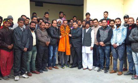 राज कुमार राजू को बाजीगर मोहल्ले का भाजपा प्रधान नियुक्त किया