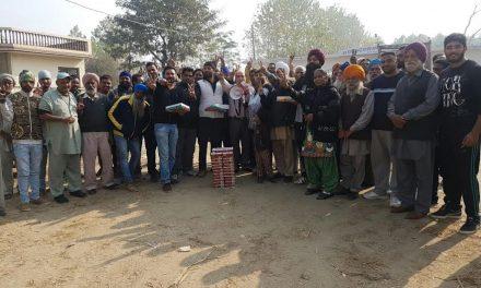 चब्बेवाल में डा. राज कुमार को बधाई देने वालों का लगा रहा तांता