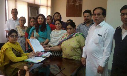 कांग्रेस सरकार में जनता की बढ़ी परेशानियों पर मुख्यमंत्री को  मांगपत्र भेजा