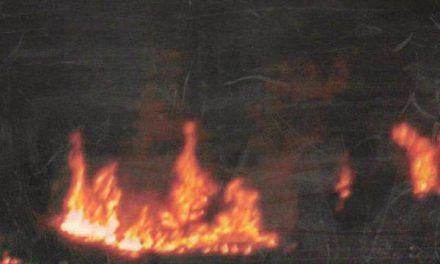 खेतों में आग लगाने का सिलसिला बिना रोक-टोक जारी