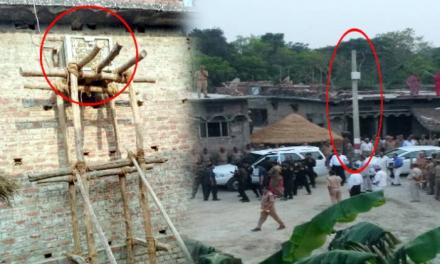 देवरिया: CM योगी के लौटते ही शहीद के घर से हटा लिया गया AC और सोफा