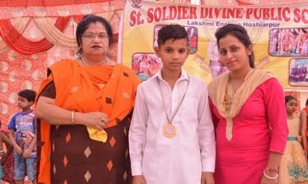 सेंट सोल्जर के छात्र ने कराटे में जीता सोना