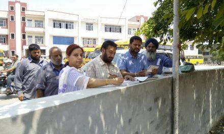 डीटीओ ने 12 स्कूली बसों के खिलाफ की कार्रवाई