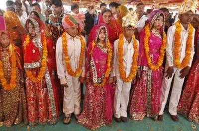 भारत में एक दशक में हुए एक करोड़ 20 लाख बाल विवाह:रिपोर्ट