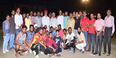 45 रन से साईं क्लब ने जीती नाइट क्रिकेट टूर्नामैंट ट्राफी