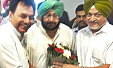 विधायक डा. राज कुमार व दलजीत सहोता की ओर से कैप्टन सरकार का धन्यवाद