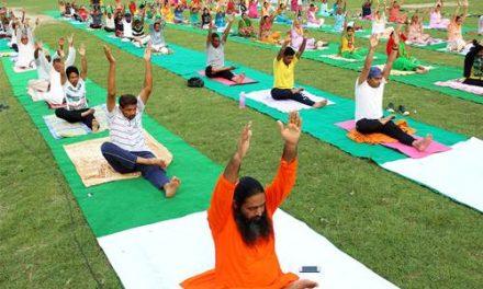 दिव्य ज्योति जाग्रति संस्थान ने तीन दिवसीय योग शिविर का आयोजन किया