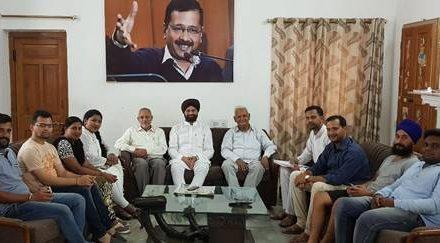अगर कांग्रेस ने किसानों की जमीनों की कुर्की की तो करेंगे जोरदार संघर्ष: सचदेवा