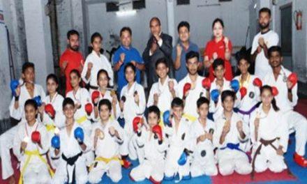 राज्य कराटे प्रतियोगिता में जगमोहन इंस्टीट्यूट के खिलाड़ियों ने फहराया परचम