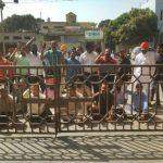 डीईओ सेकेंडरी पर बदतमीजी करने का आरोप, मिनी सचिवालय के बाहर धरना दिया