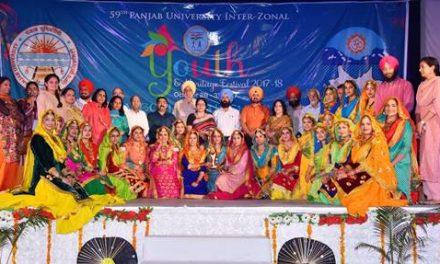 59वें पंजाब यूनिवर्सिटी यूथ ऐंड हेरिटेज़ फेस्टिवल का तीसरा दिन