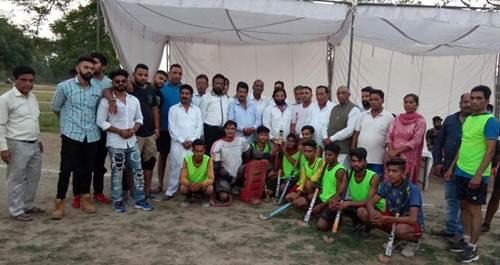 अजड़ाम ने होशियारपुर को हराकर जीता हाकी मैच