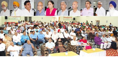 डा. बग्गा ने अपनी सेवानिवृत्ति पर निजीकरण-समस्याओं का हल नहीं विषय पर सैमीनार आयोजित किया