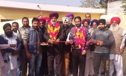 विधायक गिलजियां ने NRI सेवा सोसाइटी की नई ईमारत  का उद्घाटन किया|