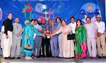 59वें पंजाब यूनिवर्सिटी यूथ ऐंड हेरिटेज़ फेस्टिवल का समापन