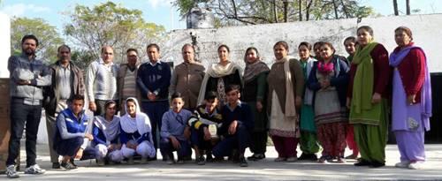 जिला स्तरीय साईंस प्रदर्शनी में Govt Sr./Sec  स्कूल चौहाल का माडल पहले स्थान पर रहा