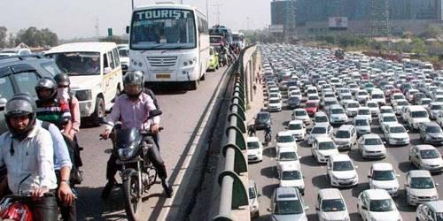ट्रैफिक जाम लगाने वाले अकालियों पर मामला दर्ज़