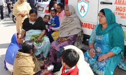आप्रेशन में बुजुर्ग सहित 3 बच्चों की काटी गई टांगें