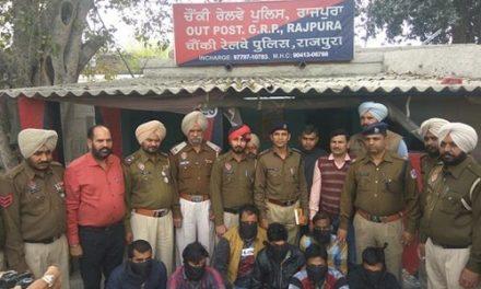 पुलिस ने 7 लुटेरे किए गिरफ्तार