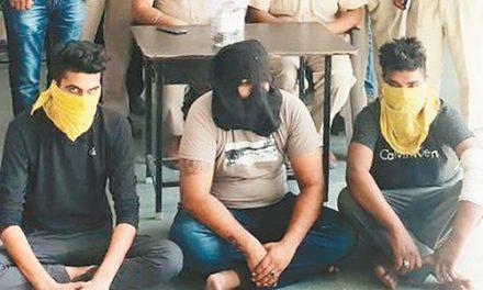 गैंगस्टर रूपा व बाबा गिरफ्तार ,पिस्तौल व जिंदा कारतूस बरामद
