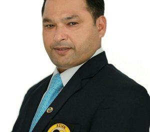 जगमोहन विज साऊथ एशिया कराटे चैंपियनशिप के टूर्नामैंट मैनेजर नियुक्त