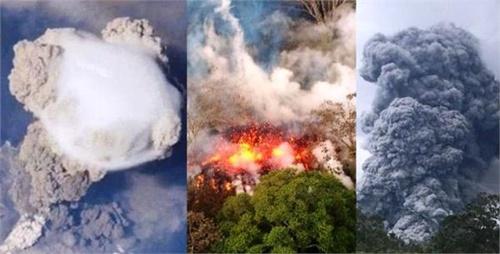 अब तक सबसे बड़ा ज्वालामुखी फटा, 30 हजार फीट की ऊंचाई तक उछला लावा