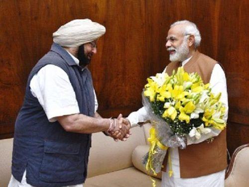 मुख्यमंत्री कैप्टन अमरेंद्र सिंह की प्रधानमंत्री मोदी से अपील