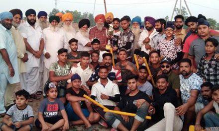 संत प्रेम सिंह स्पोर्ट्स क्लब ने हफ़ीज़ क्लब नंगली को हरा के ट्रॉफी पर कब्ज़ा किया