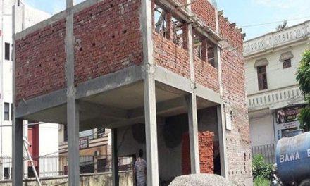 माहिलपुर का बस अड्डा असुरक्षित घोषित , इमारत का निर्माण कार्य  दोबारा शुरू