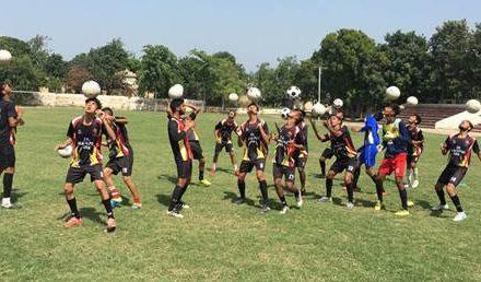 फुटबॉल  खिलाडिय़ों की नर्सरी साबित हो रही है माहिलपुर की फुटबॉल अकादमी