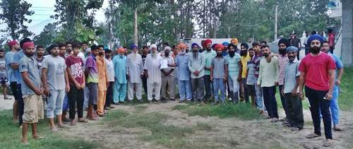 गाँव जौड़ा निवासियों  ने नशे के खिलाफ कमेटी का किया गठन