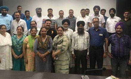 केंद्रीय सहिकारी बैंक होशियारपुर मुलाजिम यूनियन की पहली मीटिंग का आजोजन