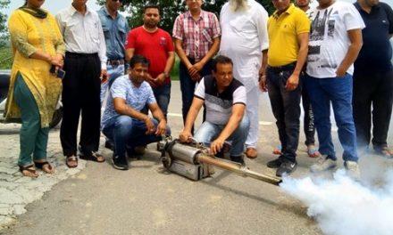 डेंगू रोकथाम के लिए प्रशासन का करेगें सहयोग- तलवाड़