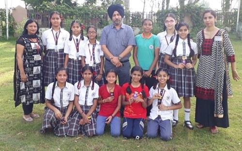 रयात बाहरा स्कूल की लड़कियों ने जीती खो-खो जोनल प्रतियोगता