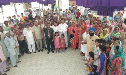 हलके का विकास व लोगों की भलाई मेरा मिशन: डा. राज