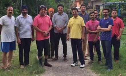 35 लाख 20 हजार रुपये से करवाया जाएगा ग्रीन व्यू पार्क का सौंदर्यीकरण : पार्षज जिम्पा