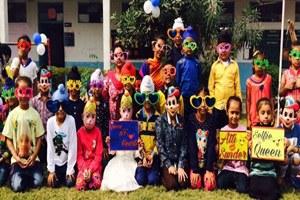 सेंट सोल्जर स्कूल मेंछात्रों ने फन, मस्ती, खेल कूद से किया खुद का मनोरंजन