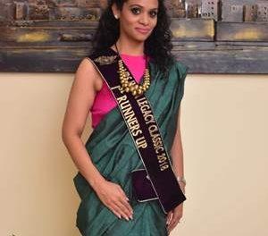 होशियारपुर की वर्तिका ने मिसेज इंडिया लीगेसी (क्लासिक)  2018 फर्स्ट रनरअप का खिताब जीता ।