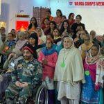 वज्र कोर की ओर से वीर नारियों व शहीदों के परिजनों से जुडऩे के लिए कार्यक्रम आयोजित