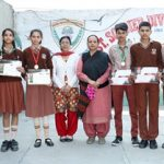 सेंट सोल्जर स्कूल के चार छात्रों ने जीते स्वर्ण पदक