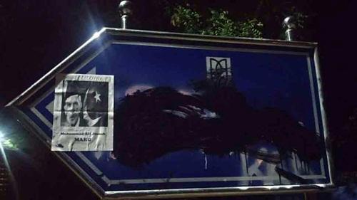 सावरकर के नाम पर कालिख पौतकर लिखा अम्बेडकर का नाम, जिन्ना के पोस्टर भी लगे!