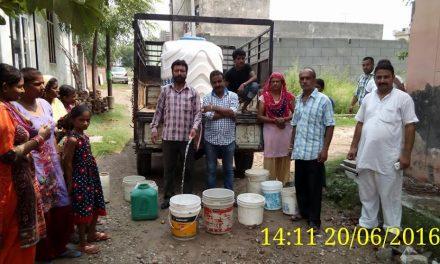जल संरक्षण को जीवन का अभिन्न अंग बनाएं: अश्विनी गैंद