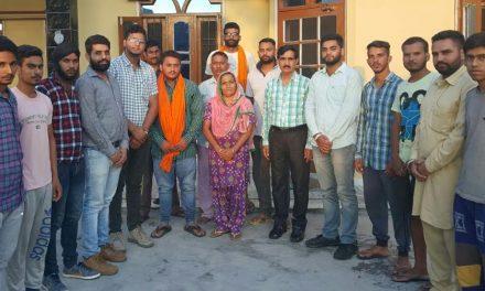 गौरव सेठी गांव ग्रंथपुर का प्रधान नियुक्त
